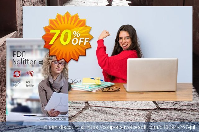 Aiseesoft PDF Splitter discount 70% OFF, 2020 Father's Day promo sales