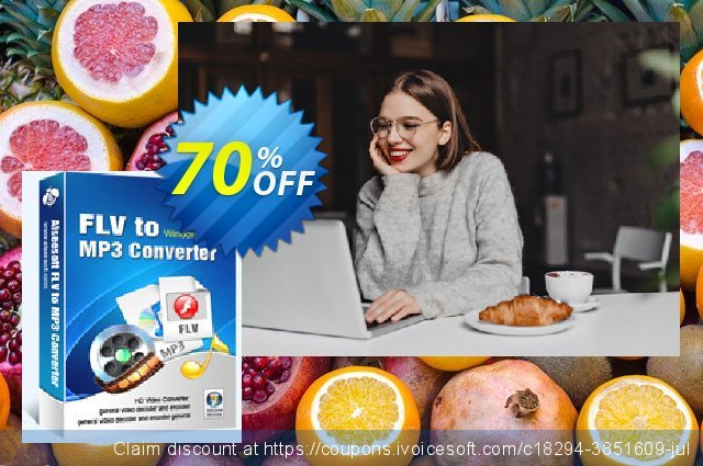 Aiseesoft FLV to MP3 Converter discount 70% OFF, 2020 Labour Day deals