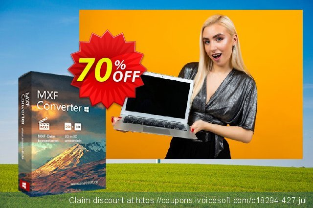Aiseesoft MXF Converter discount 50% OFF, 2019 University Student offer promotions