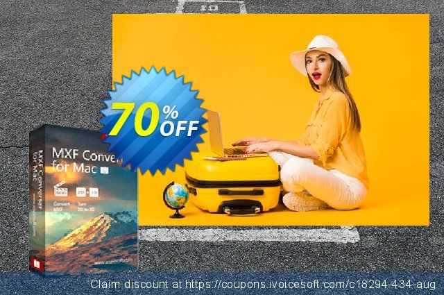 Aiseesoft MXF Converter for Mac discount 40% OFF, 2019 Earth Hour sales