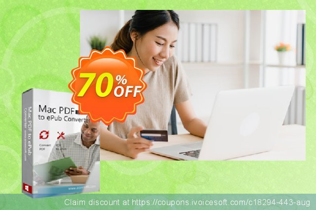 Aiseesoft Mac PDF to ePub Converter 棒极了 折扣 软件截图