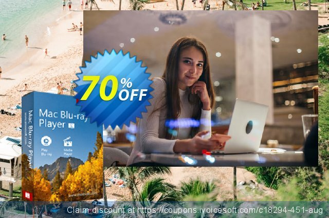 Aiseesoft Mac Blu-ray Player discount 40% OFF, 2019 College Student deals offering discount