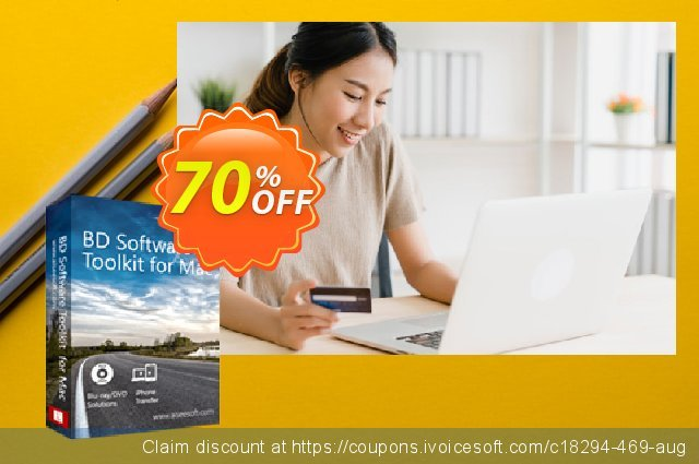 Aiseesoft BD Software Toolkit for Mac  대단하   제공  스크린 샷