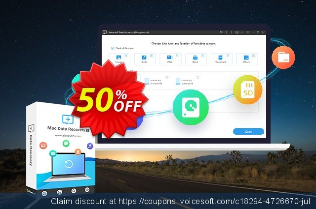 Aiseesoft Data Recovery Lifetime discount 50% OFF, 2021 Talk Like a Pirate Day offer. Aiseesoft Data Recovery - Lifetime/3 PCs Super discount code 2021
