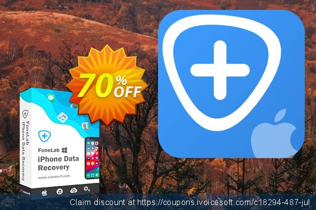 Aiseesoft FoneLab discount 50% OFF, 2019 4th of July sales