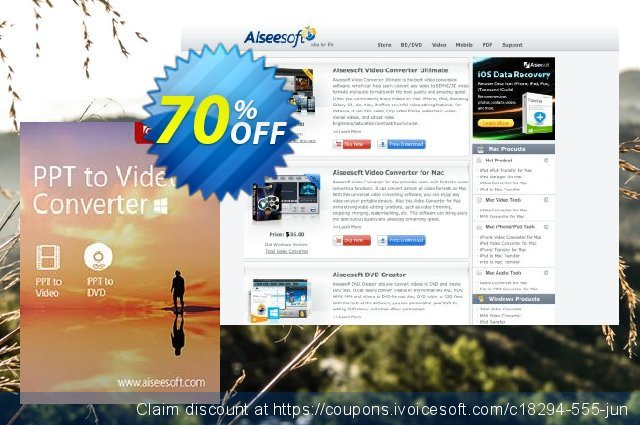 PPT to Video Converter discount 40% OFF, 2019 Happy New Year offering discount