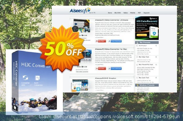 HEIC Converter for Mac discount 40% OFF, 2019 New Year's Weekend sales