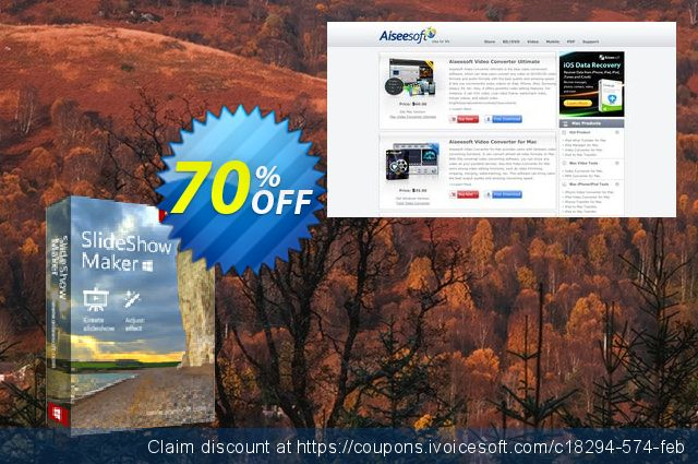 Slideshow Creator discount 40% OFF, 2019 Happy New Year offering discount