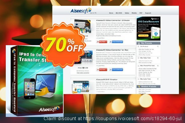 Aiseesoft iPod to Computer Transfer  신기한   제공  스크린 샷