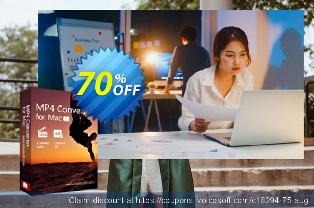 Aiseesoft MP4 Converter for Mac discount 70% OFF, 2020 Father's Day offering sales