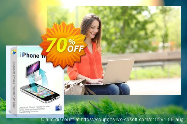 Aiseesoft iPhone Transfer for Mac discount 70% OFF, 2020 Labour Day offering sales