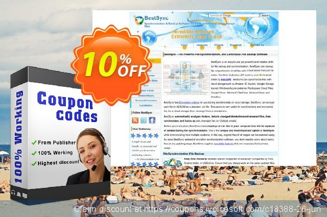 BestSync 2019 - Ultimate License discount 10% OFF, 2021 Resurrection Sunday promo