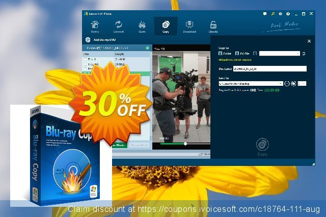 Leawo Blu-ray Copy Lifetime discount 30% OFF, 2020 Student deals offer