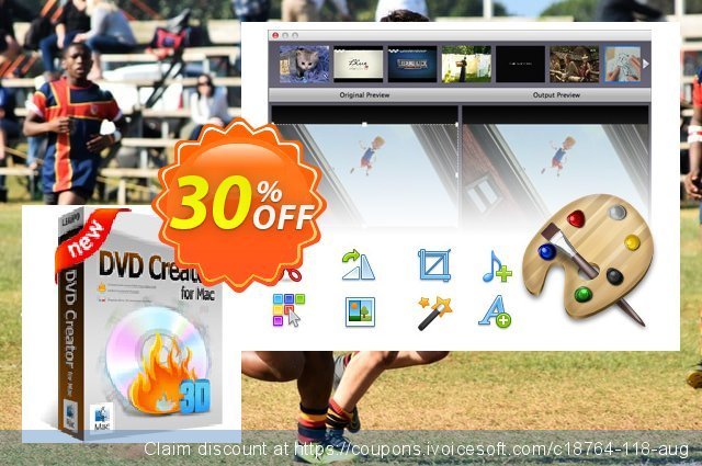 Leawo DVD Creator for Mac Lifetime discount 30% OFF, 2020 Halloween offering sales
