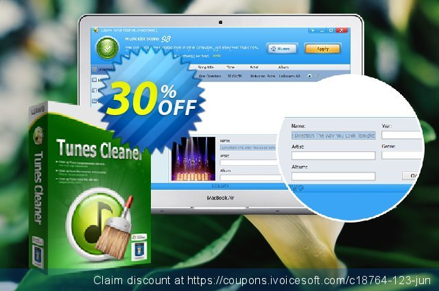 Leawo Tunes Cleaner Lifetime discount 30% OFF, 2020 Back to School promo offering sales