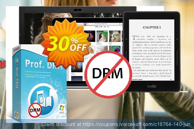 Leawo Prof. DRM eBook Converter 令人敬畏的 折扣 软件截图
