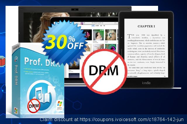 Leawo Prof. DRM eBook Converter  경이로운   가격을 제시하다  스크린 샷