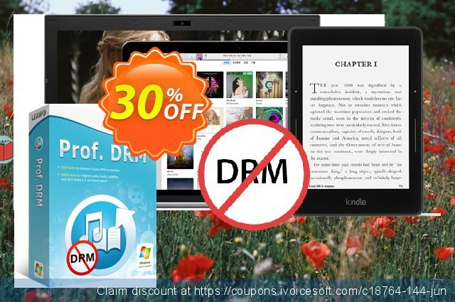 Leawo Prof. DRM discount 30% OFF, 2020 Thanksgiving sales