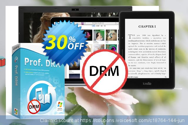 Leawo Prof. DRM  위대하   프로모션  스크린 샷