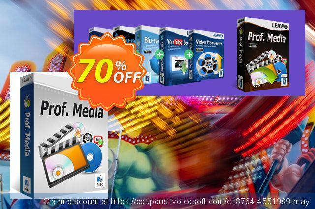 Leawo Prof. Media for Mac discount 70% OFF, 2020 Halloween offering sales