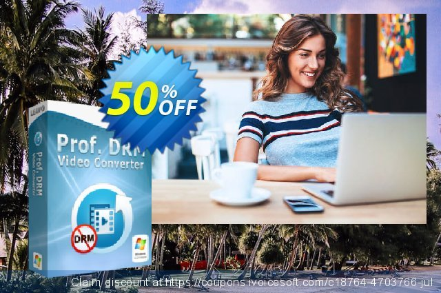 Leawo Prof. DRM Video Converter discount 50% OFF, 2021 All Hallows' Eve offering sales. TunesCopy Promotion