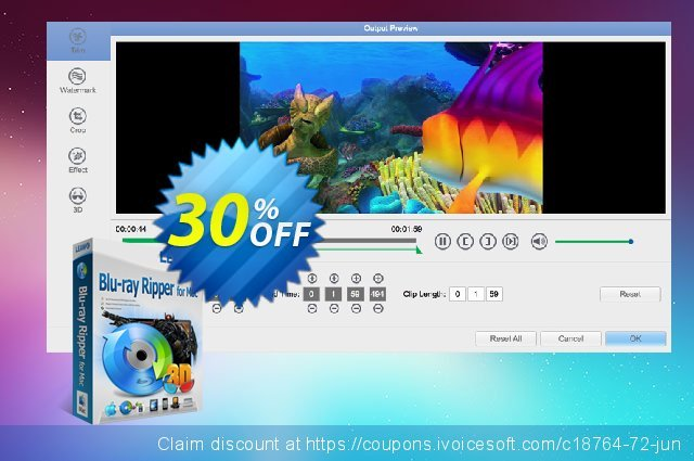 Leawo Blu-ray Ripper for Mac discount 30% OFF, 2020 Back to School deals sales