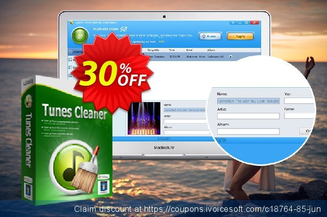 Leawo Tunes Cleaner discount 30% OFF, 2020 College Student deals offering sales