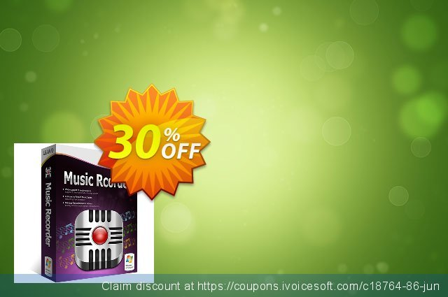 Leawo Music Recorder discount 30% OFF, 2020 College Student deals offering sales
