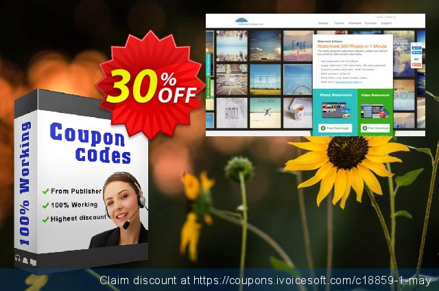 Watermark Software for Personal discount 30% OFF, 2019 Thanksgiving offering deals
