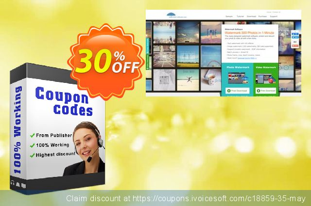 Video Watermark - Big Discount discount 30% OFF, 2019 Thanksgiving Day offering discount