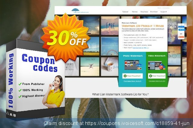 Aoao Watermark (Personal) discount 30% OFF, 2020 Back to School event promo sales