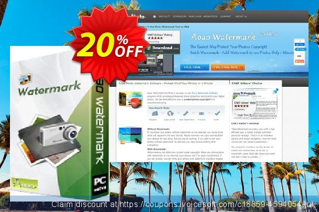 Aoao Watermark (Business) discount 20% OFF, 2020 July 4th offering sales
