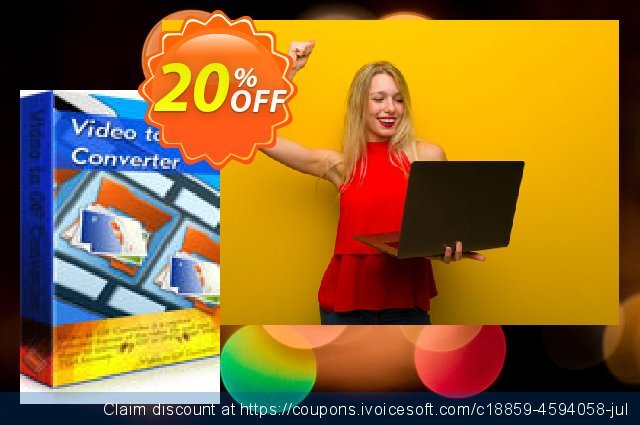 Aoao Video to GIF Converter discount 20% OFF, 2020 Exclusive Student discount offering sales