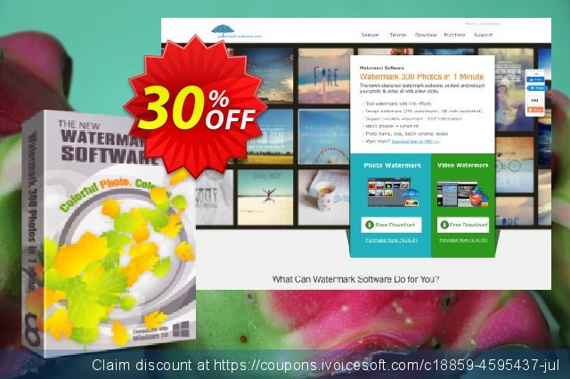 Watermark Software Unlimited Version  최고의   프로모션  스크린 샷