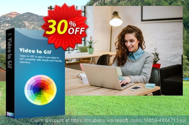 Video to GIF 50% OFF discount 30% OFF, 2020 Thanksgiving offering sales
