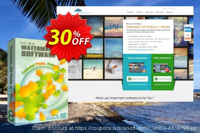 Watermark Software for Business 50% Off discount 30% OFF, 2020 Fourth of July promo sales