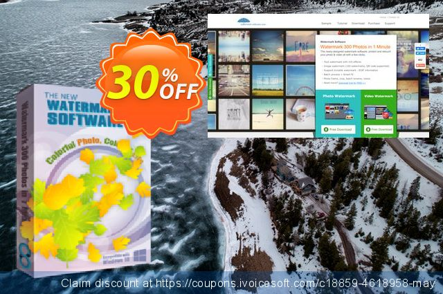 Watermark Software for Personal 50% discount 30% OFF, 2019 Thanksgiving Day offering discount