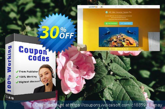 WonderFox DVD Video Converter discount 30% OFF, 2020 January discounts