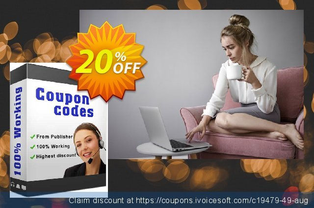 ThunderSoft Watermark Remover discount 20% OFF, 2020 College Student deals sales