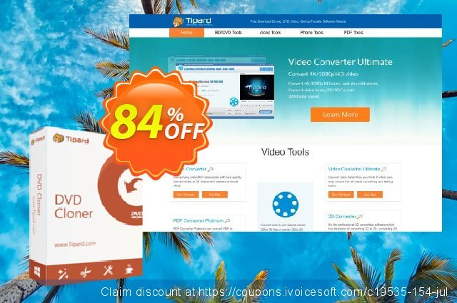 Tipard DVD Cloner 6 Lifetime License discount 84% OFF, 2019 College Student deals offering deals