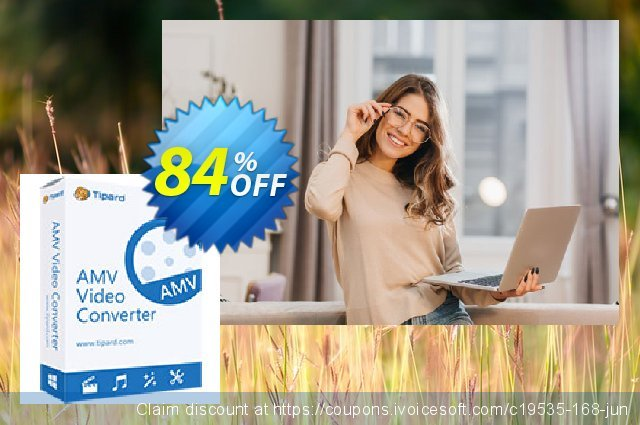 Tipard AMV Video Converter for Mac  대단하   할인  스크린 샷