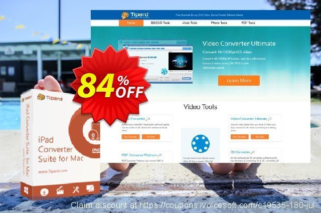 Tipard iPad Converter Suite for Mac discount 84% OFF, 2020 Halloween offering sales
