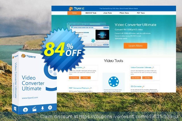 Tipard Video Converter Ultimate discount 84% OFF, 2020 University Student offer deals