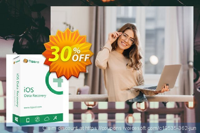 Tipard iOS System Recovery discount 30% OFF, 2019 Xmas offering sales