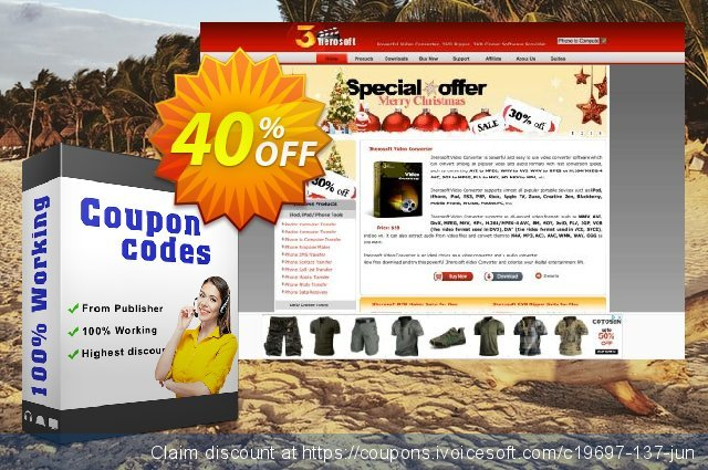 3herosoft PDF to Html Converter for Mac discount 40% OFF, 2021 National Women month offering sales