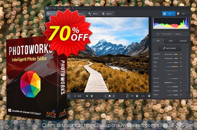 PhotoWorks PRO discount 70% OFF, 2020 4th of July deals