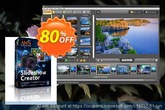 Photo Slideshow Creator Deluxe discount 70% OFF, 2020 Back to School coupons offering sales