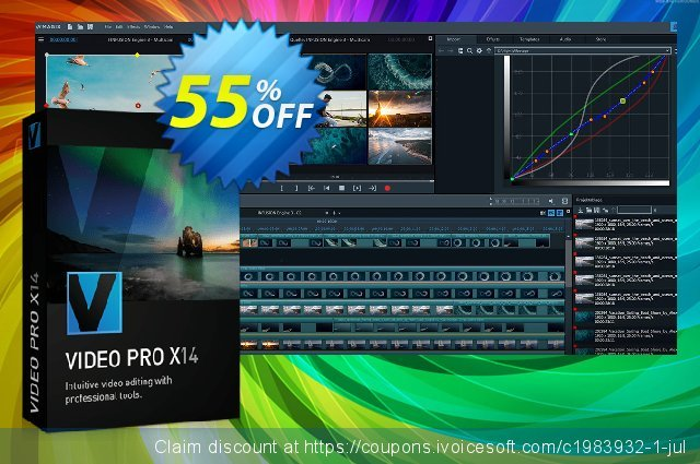 MAGIX Video Pro X discount 25% OFF, 2019 New Year's Day offering deals
