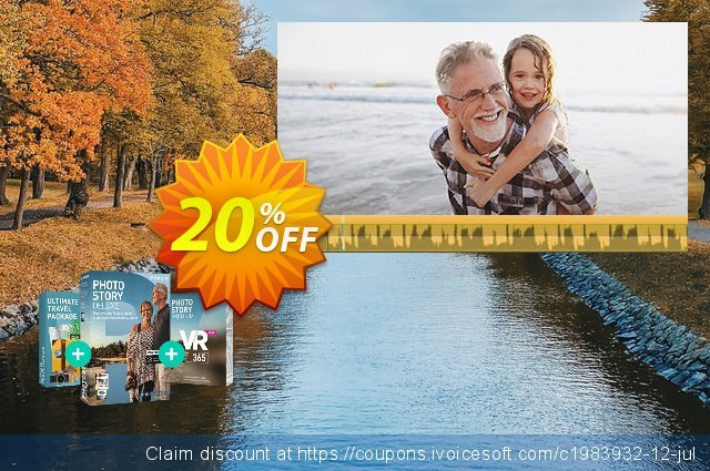 MAGIX Photostory Premium VR 365 discount 25% OFF, 2019 Xmas Day offering sales