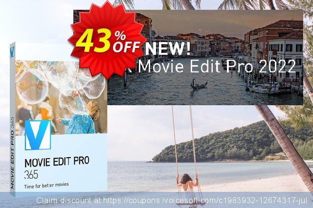 MAGIX Movie Edit Pro discount 20% OFF, 2020 Halloween offering sales